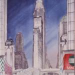 Skyscraper Museum, Times Square history, Times Square architecture, Carol Willis, Times Square 1984: The Postmodern Moment