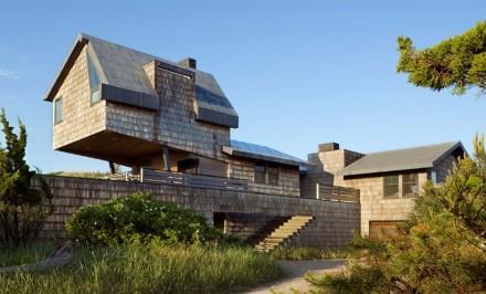 Amagansett New York, Hamptons beach houses, Whaler's Lane Residence, Rogers Marvel Architects.