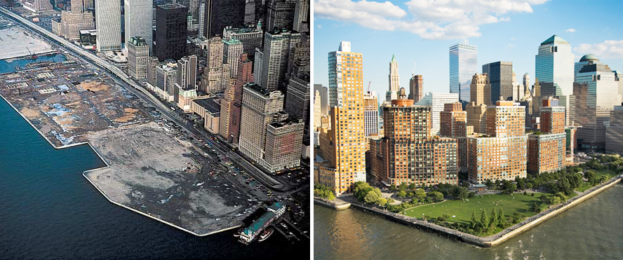NYC planned communities, Battery Park City, Batter Park City Master Plan