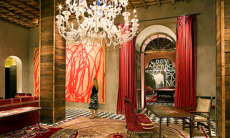 gramercy hotel lobby, gramercy park, gramercy park hotel, gramercy park key, secret gardens nyc, 2 Lexington Avenue