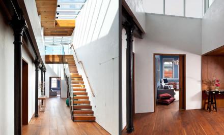 HS2 Architecture, Wooster Street Loft, hs2 architects, soho loft design, amazing new york lofts, cool soho lofts, hutsachs
