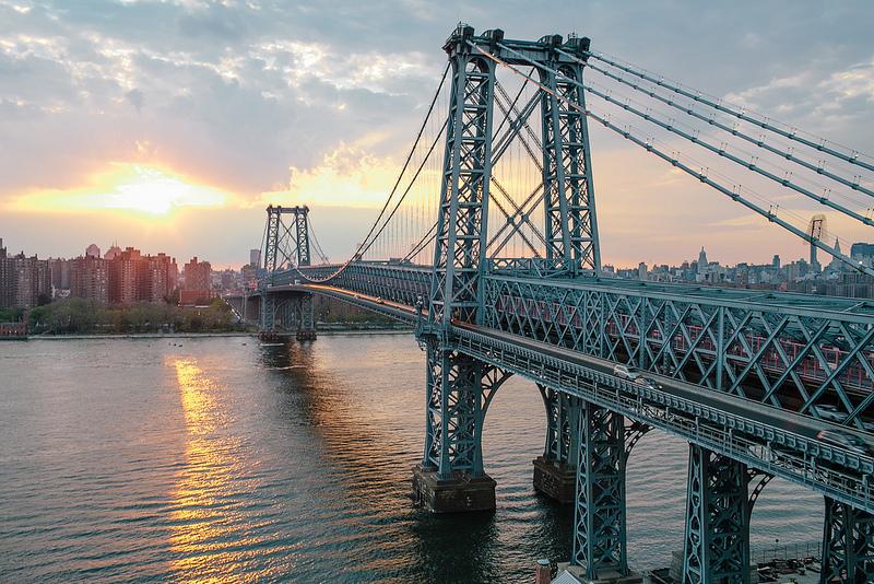 williamsburg bridge, new york bridges