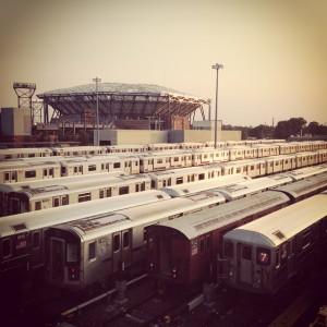 7train arthurashestadium flushingmeadows usopen usta subways