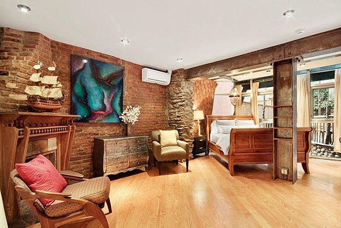121 West 15th Street Apt. GDN DPLX, home with fireman pole, quirky home with great backyard