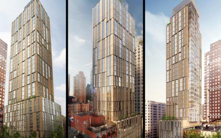 1711 First Avenue, Upper East Side condos, SHoP Architects, Anbau Enterprises