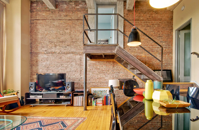 This cobble hill apartment with lofted bedroom is a true for Buy apartment brooklyn ny