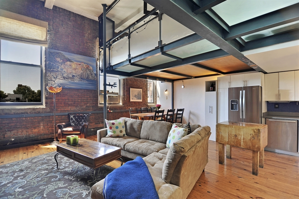 Unique South Slope Loft Breaks The Mold With A Steel