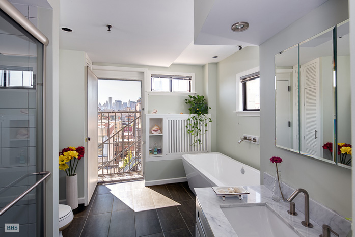 54 East 11th Street, build your dream home, living room with solarium