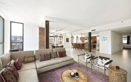 66 9th Avenue, Porter House, floor plan by Kevin Bergin, three-unit flip
