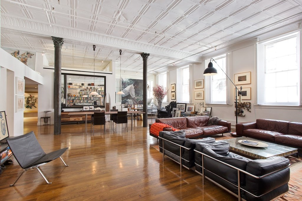 Classic loft in soho s cast iron historic district wants for Loft soho new york