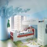 Bohemian Apartment Girls Bedroom