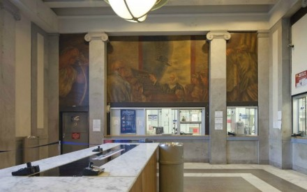 Ben Shahn Mural, Interior Bronx General Post Office