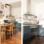 Brooklyn Heights loft, Elizabeth Roberts, Ensemble Architecture, Bookshelves, Renovation, Interiors, Kitchens