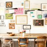 Brooklyn Heights loft, Elizabeth Roberts, Ensemble Architecture, Interiors, workspace, desk, art collection