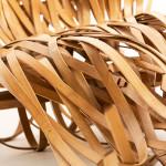 Cheng-Tsung Feng, Kao-Min Chen, bamboo lounger, bamboo seat, sculptural design, renewable bamboo, Flow