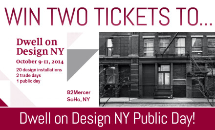 dwell on design, dod, dwell magazine, dwell, giveaway, 6sqft giveaway, free tickets, ny events, ny architecture events, ny design events, nyc events, 82 mercer street, soho