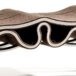 Floris Wubben, Plyfelt, felt and steel, felt seat, Dutch design