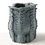 Floris Wubben, textured vases, Pressed Objects, epoxy resin, DIY press machine, Dutch design
