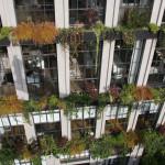 Flowerbox Building, Living Wall, NYC condo, Vertical Garden, Verdant Garden Design