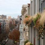 Flowerbox Building, Living Wall, Vertical Garden, Landscape Architecture, NYC condo