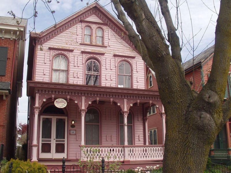 Lambertville NJ, Victorian house