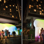 Standard High Line, FriendsWithYou, Light Cave, NYC public art, Art Production Fund