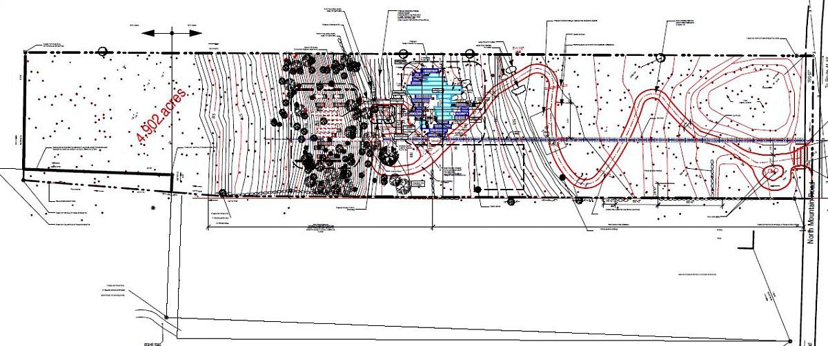 Master Site Plan, Adam Kushner, KUSHNER Studios, 3D-Printed estate