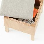 Torafu, Kororodesuku, Koloro desk, Japanese design, wooden desk, furniture for small spaces