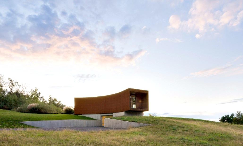 Tsai Residence, HHF Architecture, Ai Weiwei, Ancram NY