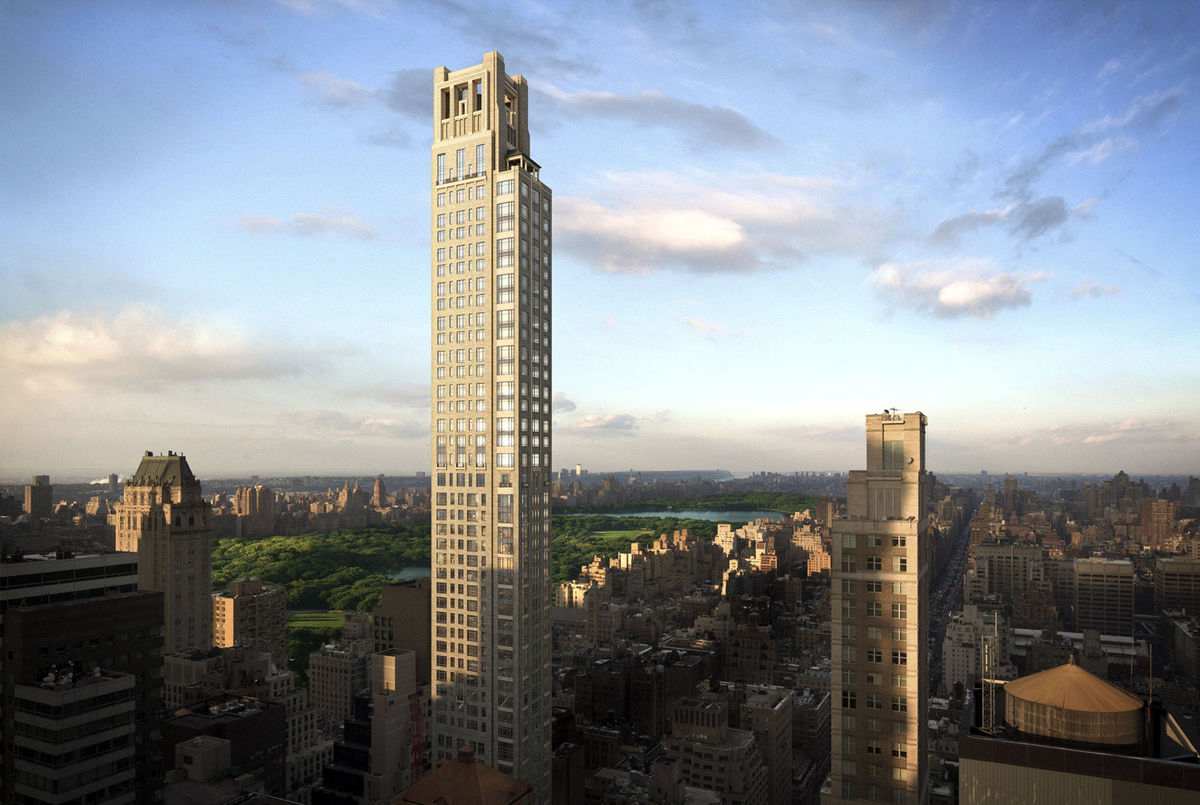 130 Million Penthouse At Zeckendorf S 520 Park Avenue