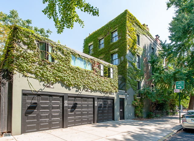 6sqft boerum hill townhouse garage for Nyc townhouse with garage