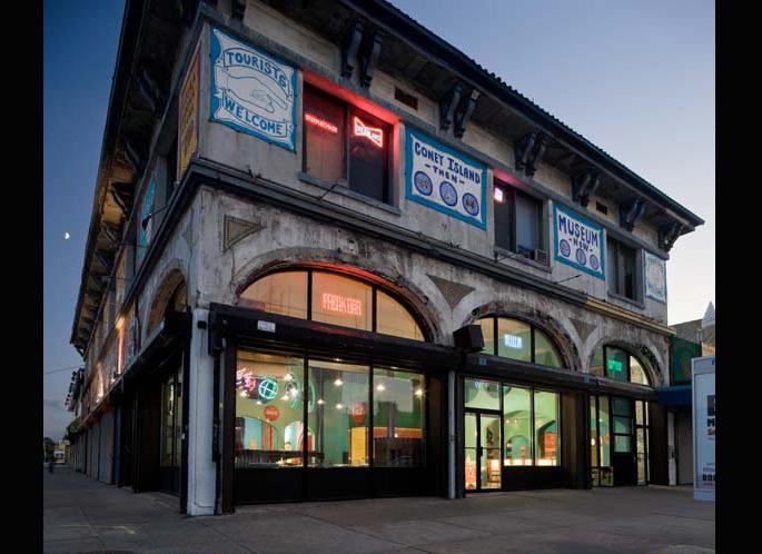 coney island museum, coney island attractions