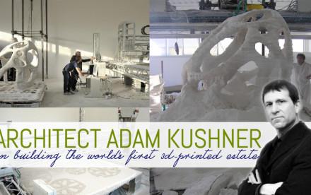 Adam Kushner, KUSHNER Studios, 3D-Printed estate