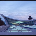 Dulles Airport, Eero Saarinen, Modern design, Architecture, Jet Age,
