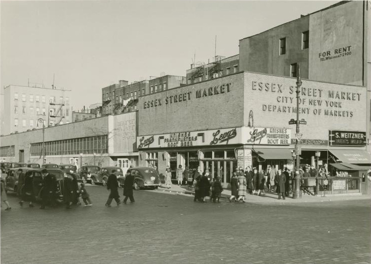 essex street market historic-photo, essex street market