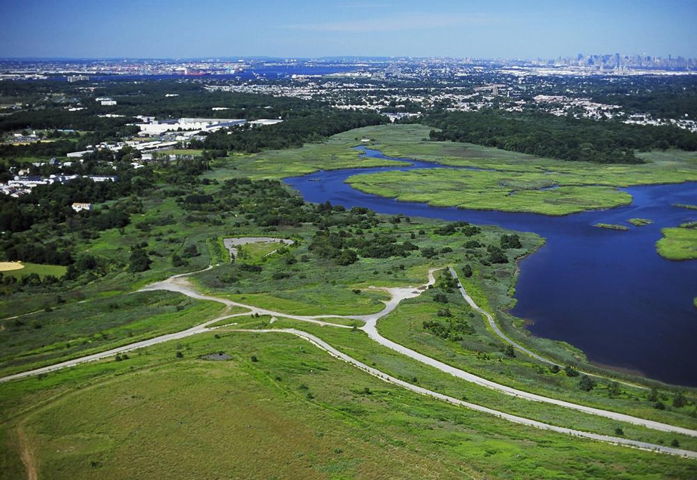 freshkills park, fresh kills park land reclamation, adaptive reuse, landscape design, nyc contaminated parks, park cleanup nyc