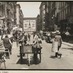 pushcarts food in new-york 1938,pushcarts, pushcarts new york, pushcarts lower east side, orchard street historic