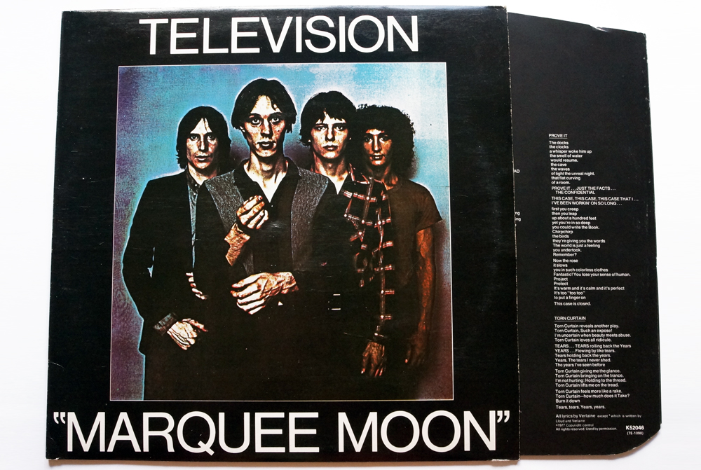 television marquee moon album cover