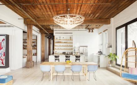 Williamsburg Loft, Elizabeth Roberts, Ensemble Architecture, Chef's Kitchen, Live/work