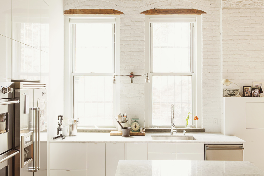 Williamsburg Loft, Interiors, Kitchens, live/work, loft living, Elizabeth Roberts, Ensemble Architecture