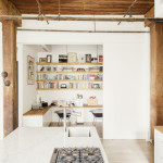 Williamsburg loft, loft living, Elizabeth Roberts, Interiors, Loft Living, Kitchens, Workspace