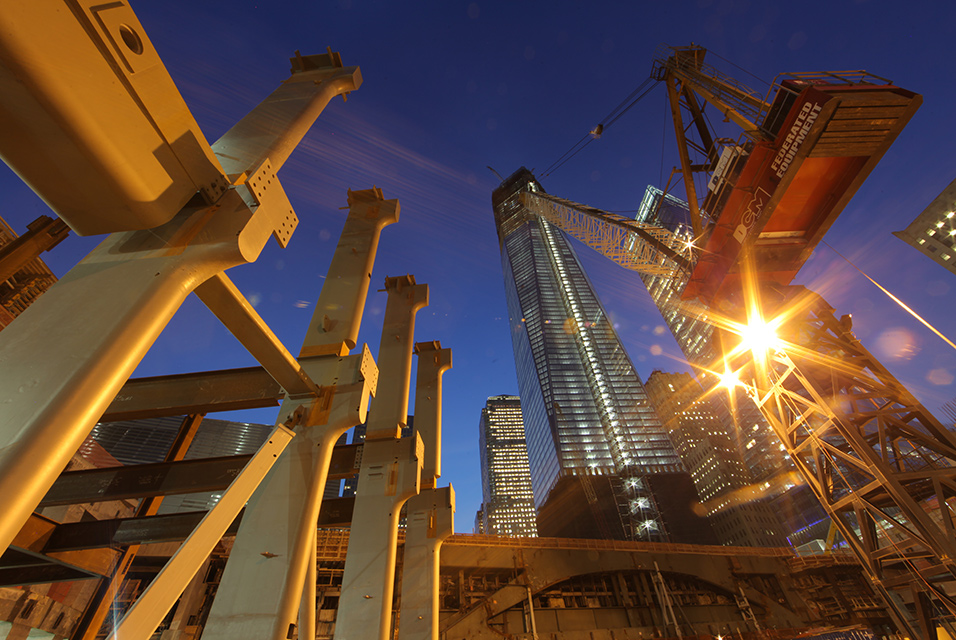 One World Trade Center, Marcus Robinson, Rebuilding the World Trade Center
