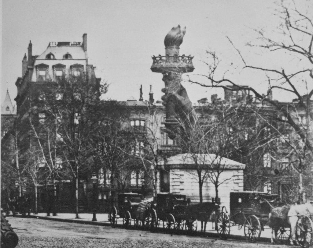 madison square statue of liberty, statue of liberty birthday, statue of liberty 1876