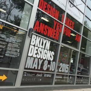 Weekend design week kickoff @bklyndesigns in Greenpoint. #bklyndedigns #nycxdesign #brooklyn