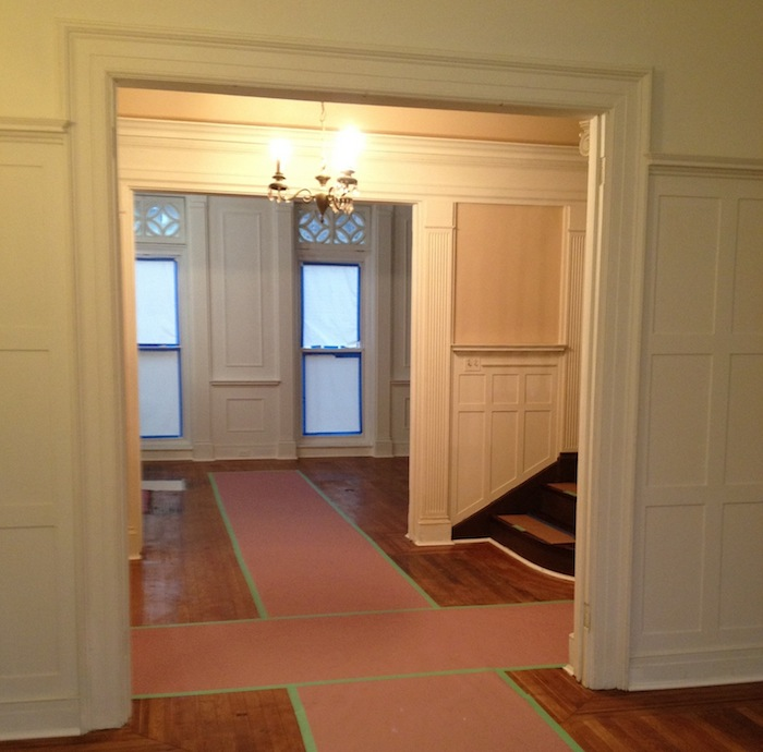 123 Gates, Townhouse, Brownstone, Clinton Hill, historic home