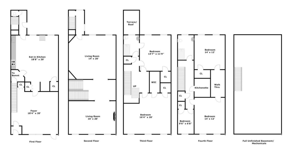 Renovation diary defining a dream assembling a team 6sqft for Brownstone townhouse plans