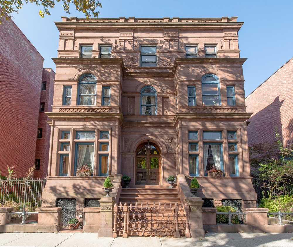 Inside the historic 6m bed stuy mansion with a for New york city brownstone for sale