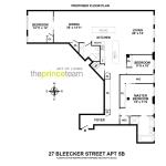 27 Bleecker Street, Nikolai Katz design, cast-iron columns