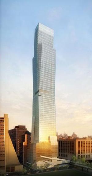 Steven Holl, Extell Development, High Line, Chelsea, Penn Station
