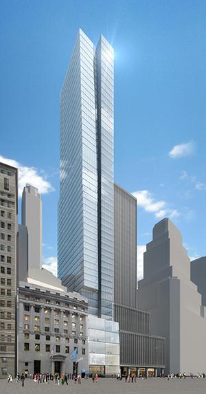 Sqig Equities, Wall Street skyscraper